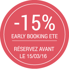 Early booking été