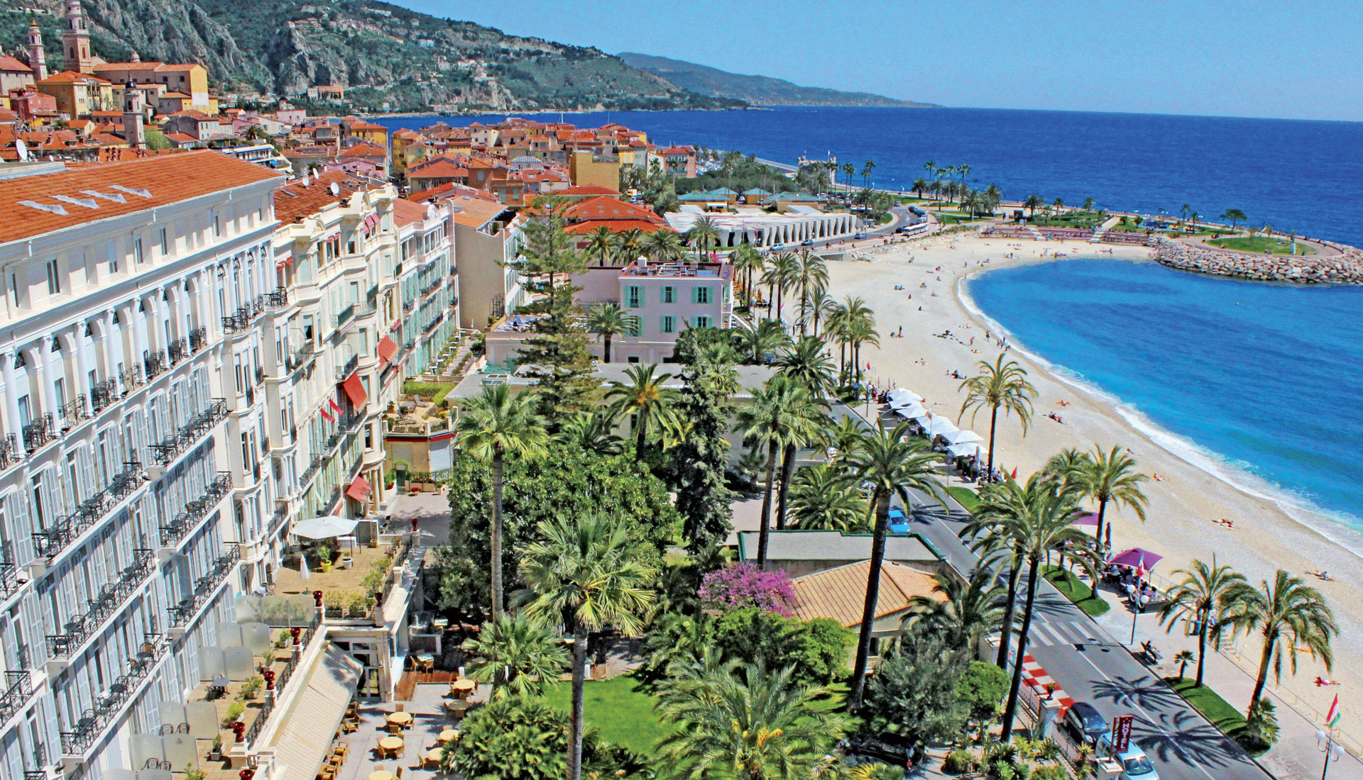 Menton France Lodging - The royal westminster perfect 3 stars hotel for a last minute week end